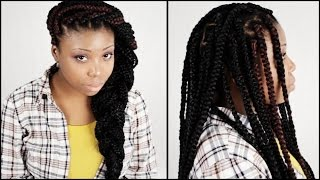 Big Box Braids START TO FINISH In 6 Minutes!!!(, 2015-08-19T22:00:01.000Z)