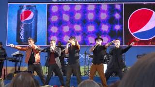 (Part 9/15) Backstreet Boys - Interview & Larger Than Life - Good Morning America (8/31/12)