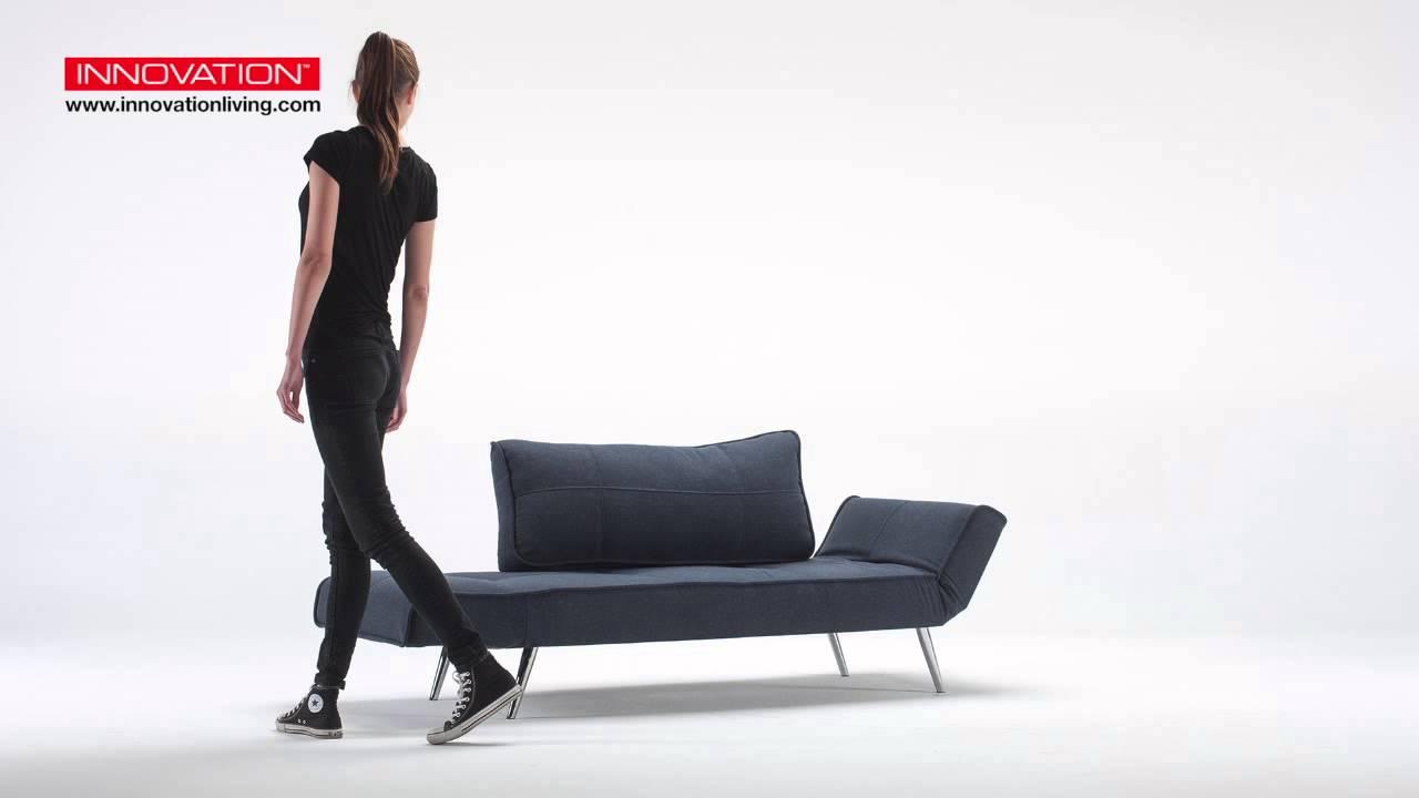 Innovation Zeal Sofa Mit Verchromten Fussen