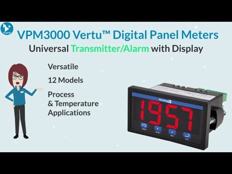 Acromag VPM3000 Series Universal Transmitter / Alarm with Display