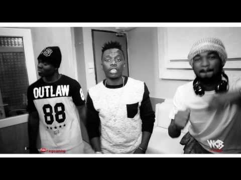 RAYVANNY freestyle in Wasafi records