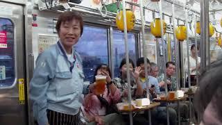 2019年7/7の鶴見線 ビール列車(ツアー)の出発の車内を撮影してみた