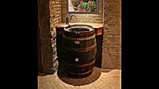 The Original Whiskey Barrel Sink