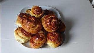 Сдобные булочки, вкусные и мягкие как пух!