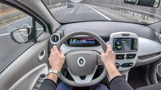 Renault ZOE | 4K POV Test Drive #150 Joe Black