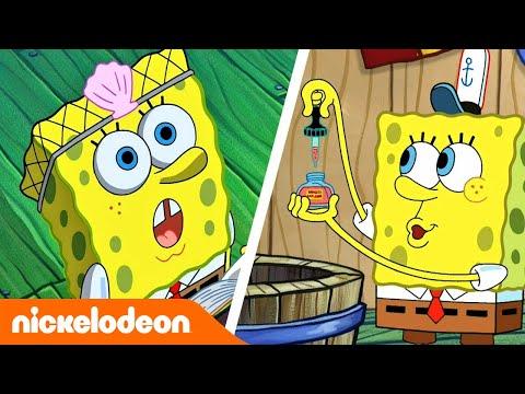 🔴 JETZT LIVE: SpongeBob Schwammkopf   Lustige Momente 🤣   Nickelodeon Deutschland