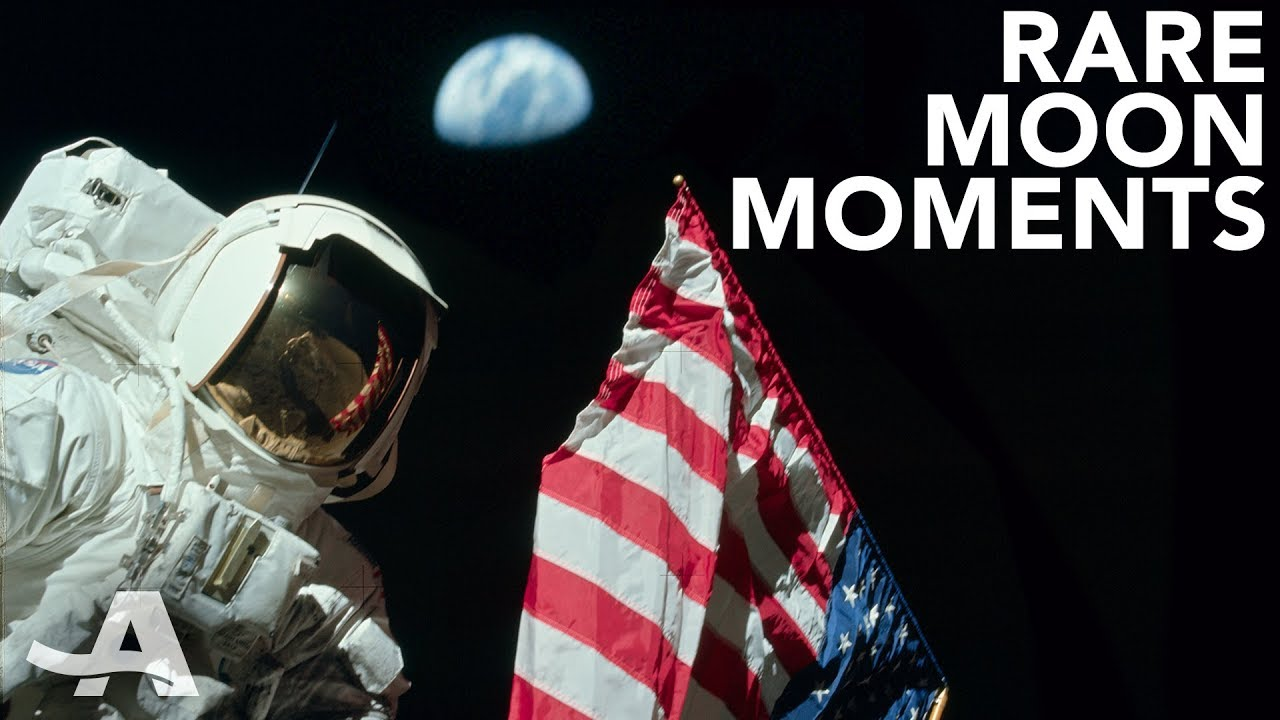 Moments on the Moon You Haven't Seen