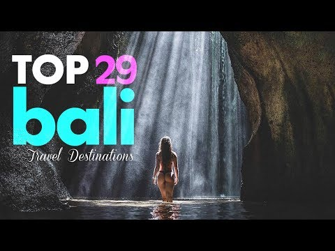 WOW! 29 Crazy Waterfall in Bali, Indonesia | Travel Destinations