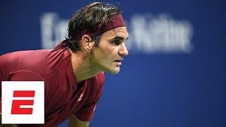 2018 US Open highlights: Roger Federer dominates Yoshihito Nishioka in straight sets | ESPN