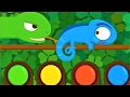Children Learn About The Habits Of Animals, How Animals Get Food - Baby Panda Fun Game