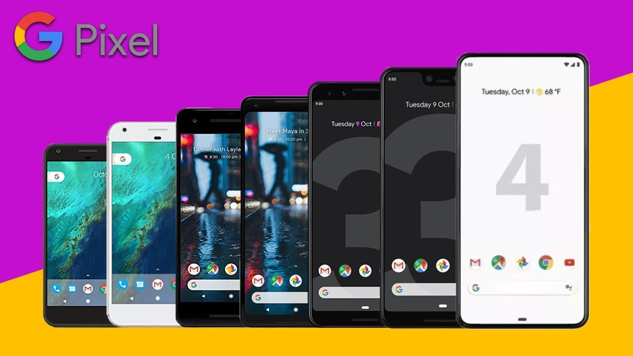 Download Every Google Pixel Phone Official Commercial