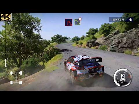 WRC 10 : Hundai i20 WRC(Rally New Zealand 1993) - Gameplay (4K60FPS) |