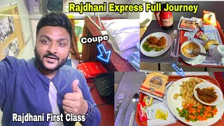 Rajdhani Express First Class Coupe Food Review | Howrah to New Delhi || Indian Railways | Irctc Food