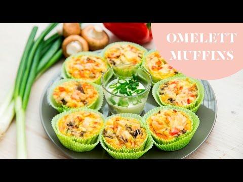 Omelett Muffins » Der ultimative Brunch-Snack » Exrem lecker und super easy   Stylight