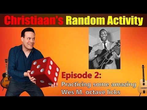 Jazz Guitar Magic Using Wes Montgomery's Octave Licks (Christiaan's Random Activity Episode 2)