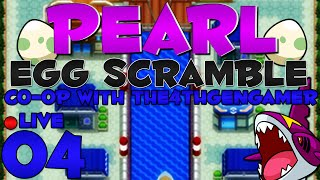 Pokémon Pearl Egg Scramble Co-Op LIVE w/ @The4thGenGamer - Episode 4 ~ Underleveled