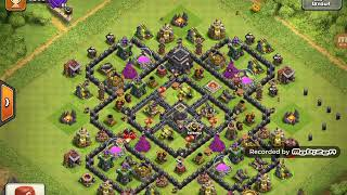 Clash of clans  troll base gone wrong?