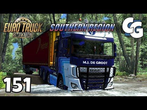 Euro Truck Simulator 2 - Ep. 151 - The Secret Road of Doom - ETS2 Southern Region Gameplay