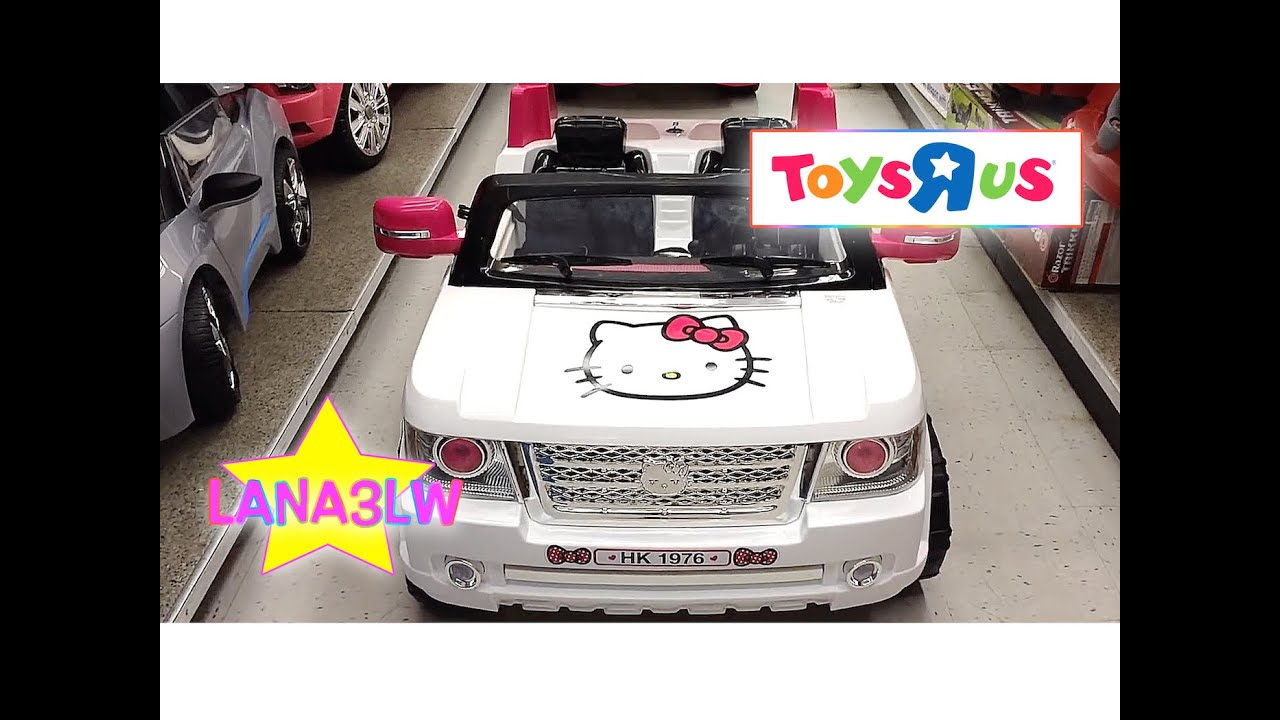 Best Popular Toysrus Hello Kitty Range Rover Bow Tie Suv Electric