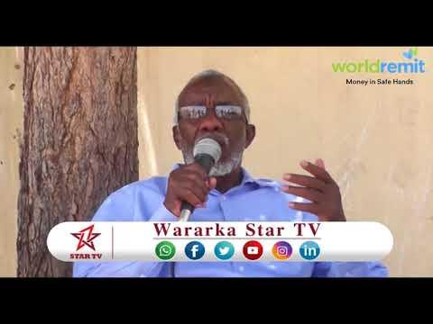 DAAWO WASIIRKA ARIMAHA SOMALILAND  GUDAHA OO KA HADLAY DAGAALKA BUHOODLE+KHASAARAHA KA DHASHAY