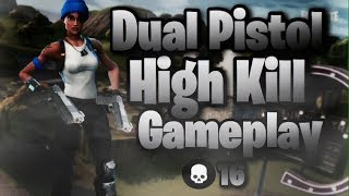 New Weapon Dual Pistol Major Powerful 16 Execution Game - Fortnite Battle Royale
