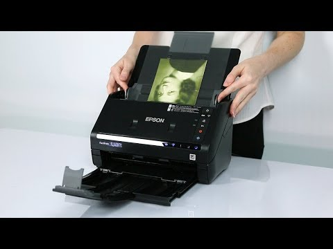 Epson FastFoto FF-680W | How To Scan Special Photos