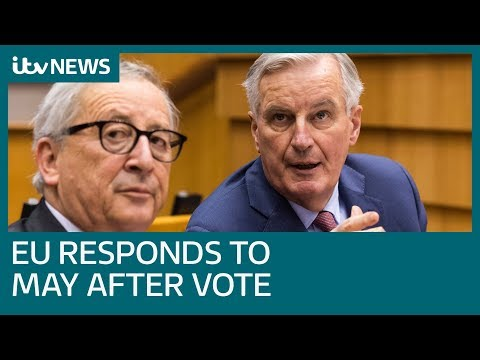 EU say no to renegotiation of Brexit deal following Commons vote | ITV News