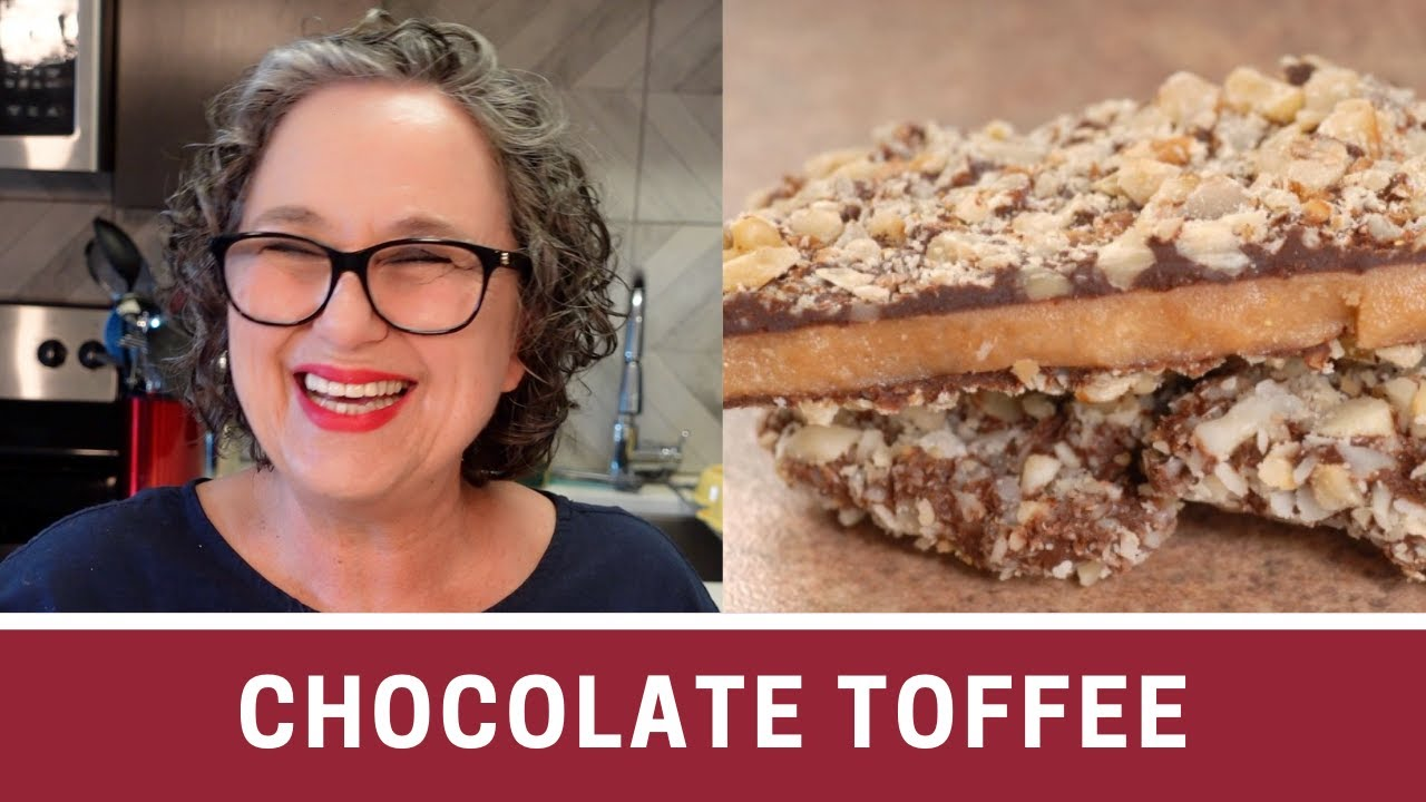 youtube how to make toffee shards