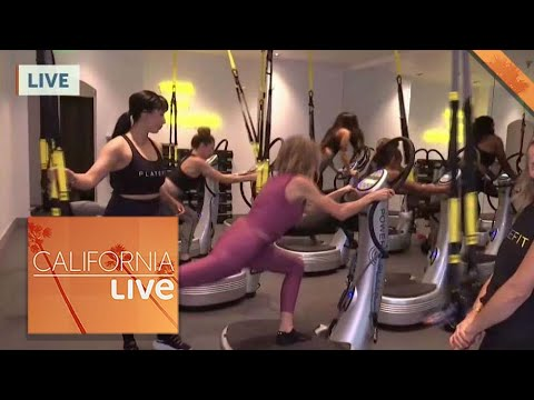 Shake Up Your Workout Routine at PlateFit! | California Live | NBCLA