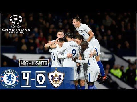Download HIGHLIGHTS Chelsea vs Qarabag 4-0 ●All Goals HD| UEFA Champions League 2017 22/11