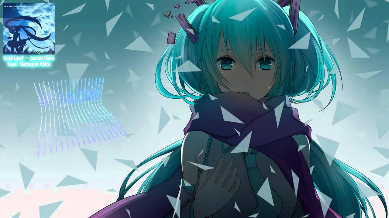 Anime Girl Summer Wallpaper 【初音ミク Hatsune Miku】cold Leaf【aerial Flow Original