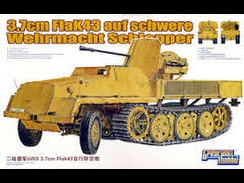 Kit Review: Great Wall Hobby 3.7 cm Flak43 auf Schwere Wehrmacht Schlepper