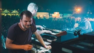 Kiasmos & Nils Frahm live improvisation at Haldern Pop Festival 2015