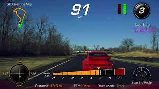 Full Attack Mode!  C7 Z06 Chasing a 997.2 GT3 Cup Car