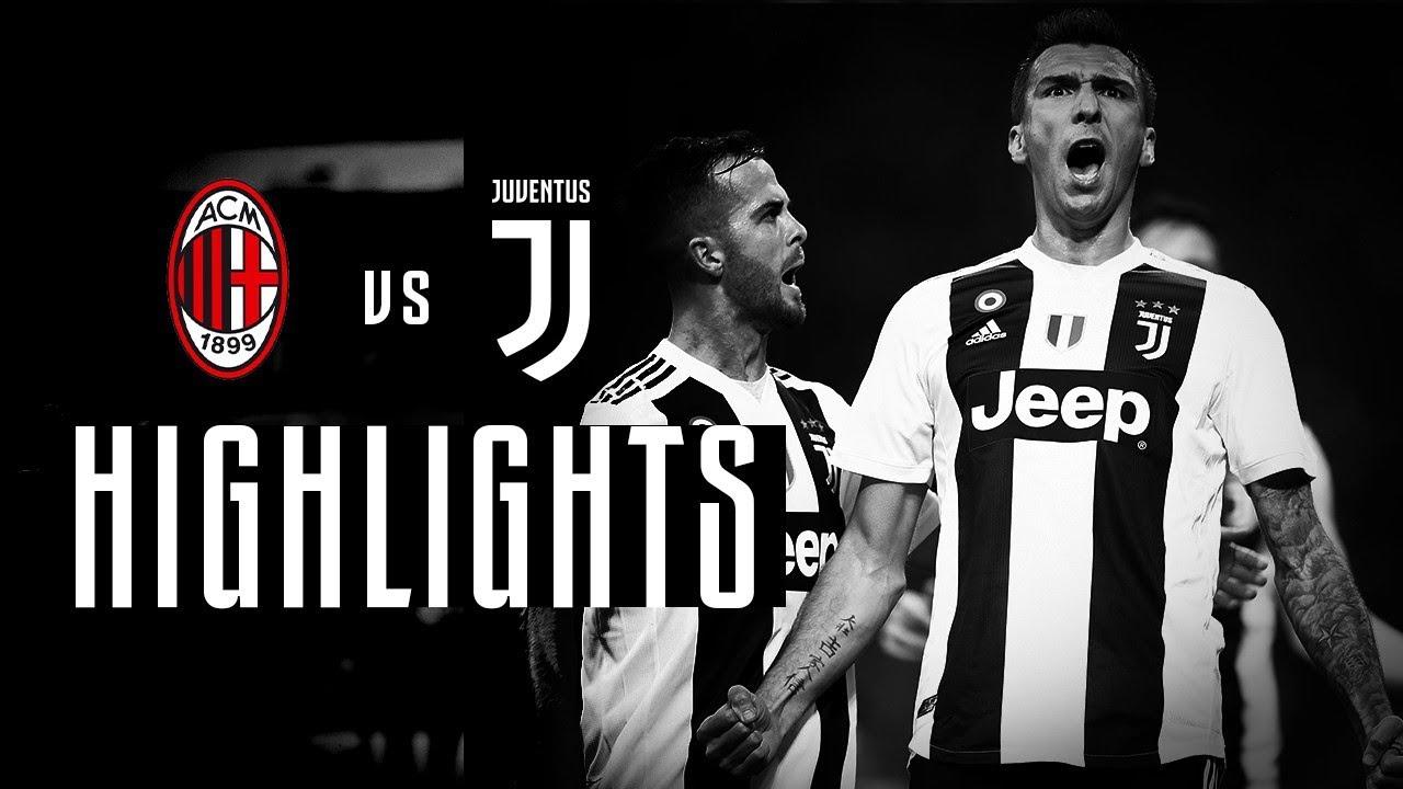 highlights milan vs juventus 0 2 serie a 11 11 2018 juve