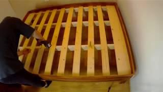 [3편]퀸사이즈 침대 제작[구조목/스프러스판재]-침대 …