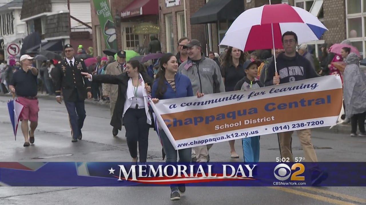 chappaqua honors veterans memorial day youtube