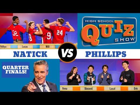 High School Quiz Show - Quarterfinal#3: Natick vs. Phillips (911)
