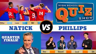 High School Quiz Show - Quarterfinal #3: Natick vs. Phillips (911)