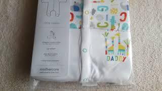 Покупки с сайта Mothercare.