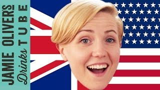 UK vs USA Beer Off with Hannah Hart | Jamie Oliver