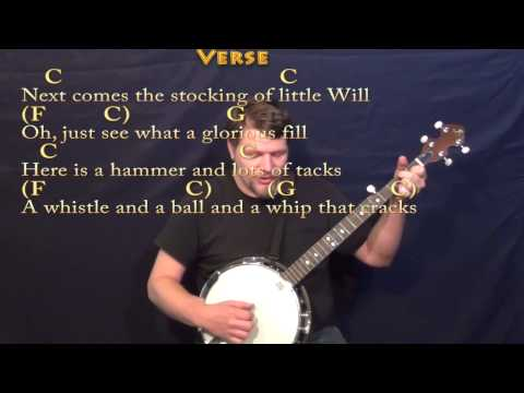 Ukulele ukulele chords up on the housetop : Up on the Housetop - Banjo Cover Lesson in C with Chords/Lyrics ...