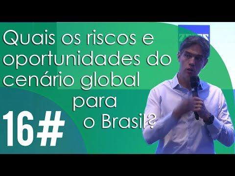 Quais os riscos e oportunidades do cenário global para o Brasil?