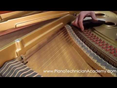 How to Clean Rusty Piano Strings