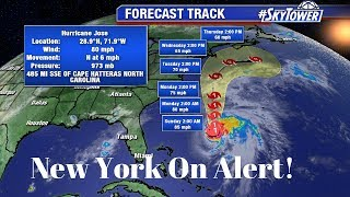 Hurricane Jose lurks off U.S  coast as new Hurricane Storm Maria tracks toward the U.S