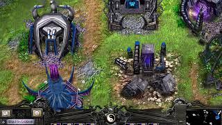 Battle Realms, map: Pure ocean, 1vs7.
