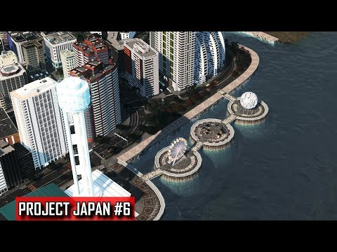 Cities: Skylines - PROJECT JAPAN #6 - A decade of urban rene