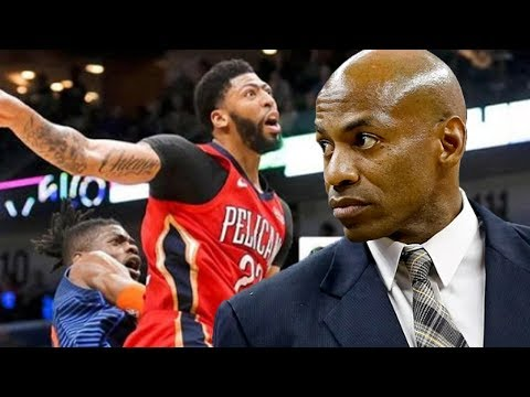 Anthony Davis Allegedly FAKED Injury To Leave Game As 'Livid' Pelicans FIRE GM Dell Demps!