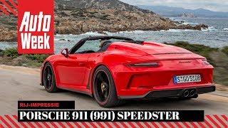 Porsche 911 (991) Speedster - AutoWeek review - English subtitles