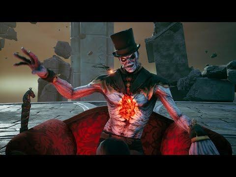 Darksiders 3: The Crucible DLC - Wicked Killington Final Boss Fight (4K 60fps)